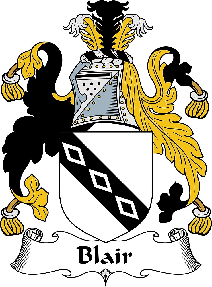 Blair Coat of Arms / Blair Family Crest by ScotlandForever