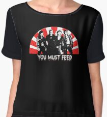 The Lost Boys - You Must Feed Chiffon Top