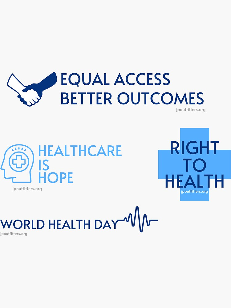 Healthcare Is Hope | World Health Day by JPOutiffters