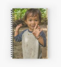 Village Girls 5 Spiral Notebook