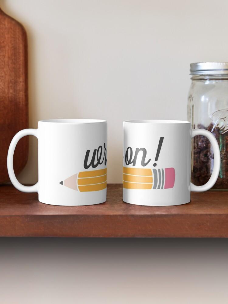 Alternate view of Write On! Mug