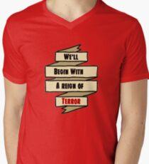 The Reign of Dr. Griffin Men's V-Neck T-Shirt