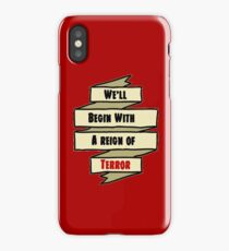 The Reign of Dr. Griffin iPhone Case/Skin