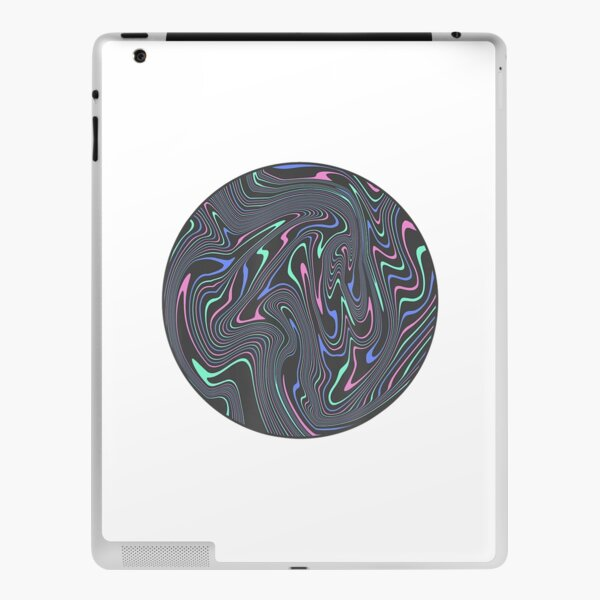 Awesome Abstract Trippy Melting Liquid Swirl Psychedelic iPad Skin