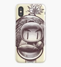 HAND WITH REFLECTING BOMB iPhone Case/Skin
