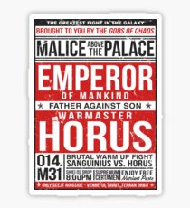 Malice Above The Palace Sticker