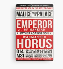 Malice Above The Palace Metal Print