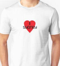 I Love Sydney Souvenir T-shirt Unisex T-Shirt