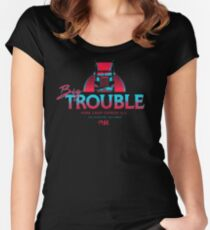 Big Trouble Trucking Women's Fitted Scoop T-Shirt