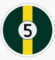 #5 Racing Livery Sticker