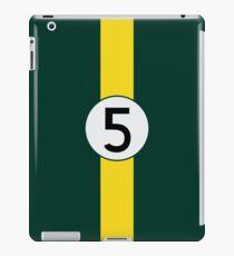 #5 Racing Livery iPad Case/Skin