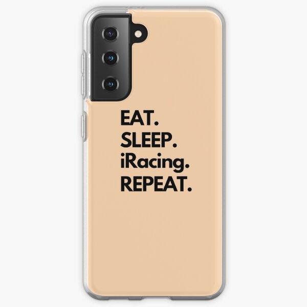 Eat Sleep iRacing Repeat Samsung Galaxy Soft Case