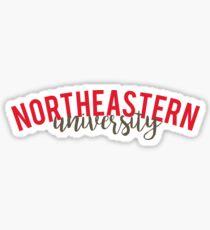 Northeastern Sticker
