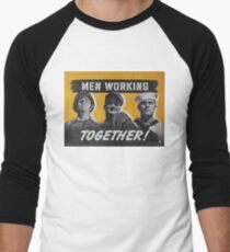 """Men Working Together!""  - Vintage retro ww2 armed forces military propaganda poster T-Shirt"