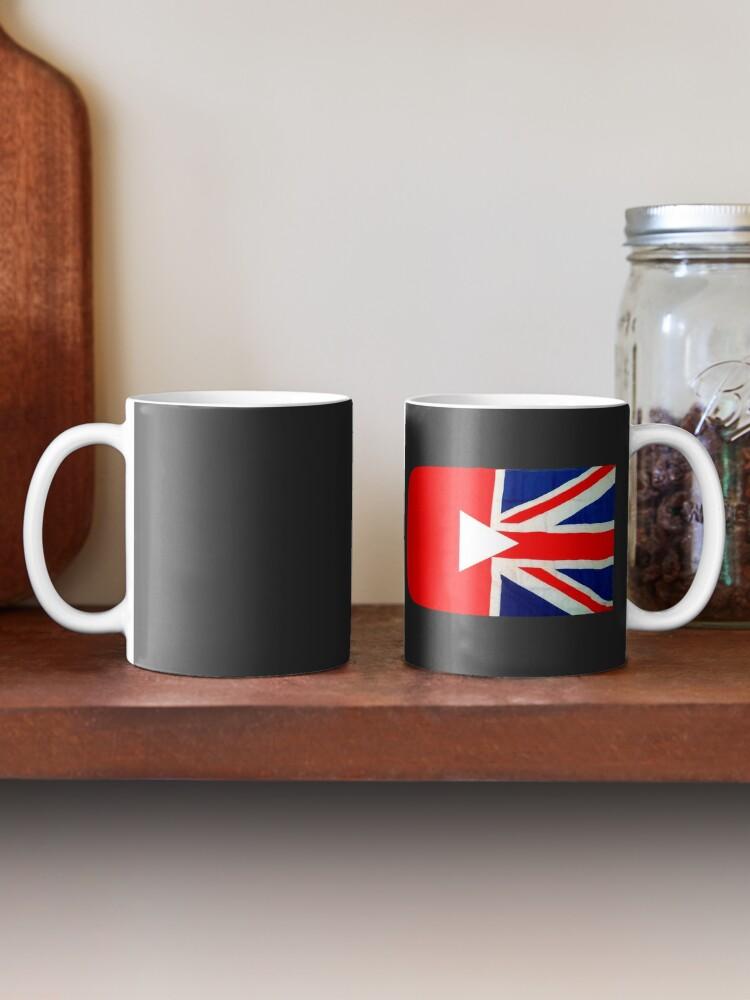 Alternate view of Great British YouTuber logo Mug