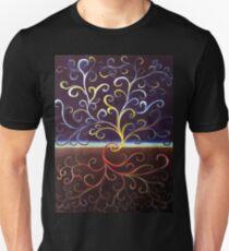 Yin Yang Tree of Life a Unisex T-Shirt