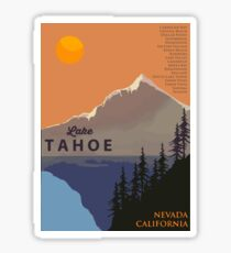 Lake Tahoe. Sticker