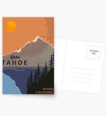Lake Tahoe. Postkarten