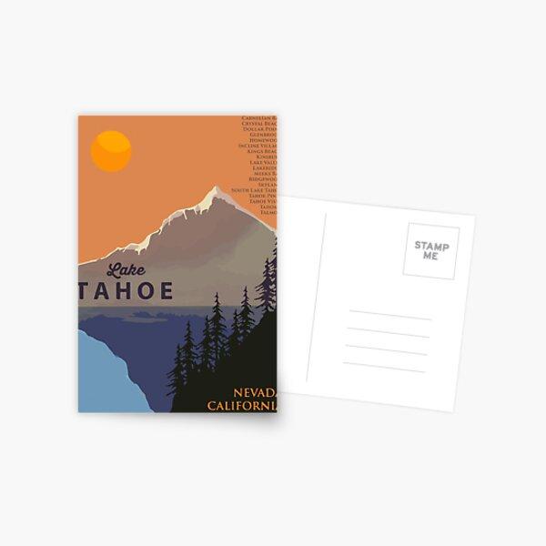 Lake Tahoe. Postcard