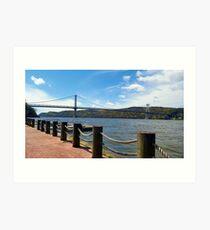 Mid-Hudson Bridge Art Print