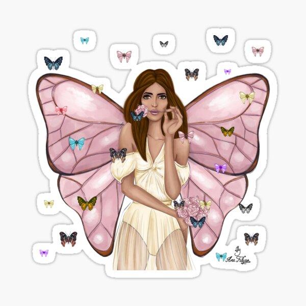 Butterfly Garden Sticker