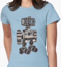 Camera Bot 6000 Women's Fitted T-Shirt