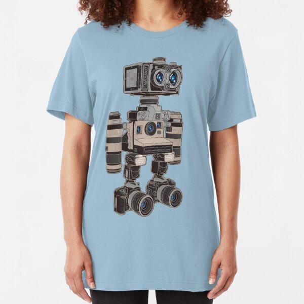 Camera Bot 6000 Slim Fit T-Shirt