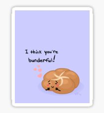 I think you're bunderful! Sticker