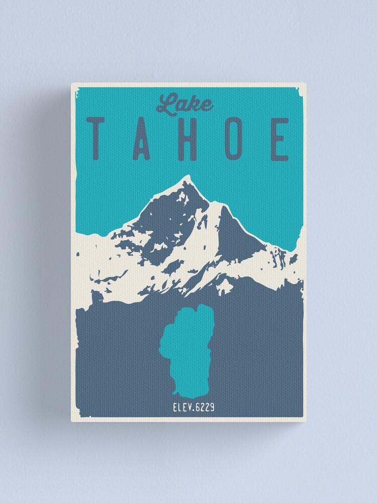 Alternate view of Lake Tahoe. Canvas Print