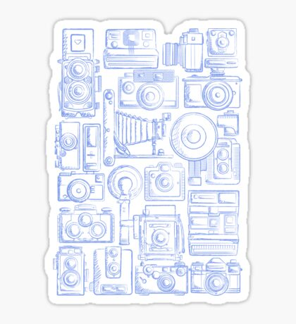 Paparazzi Blue Sticker