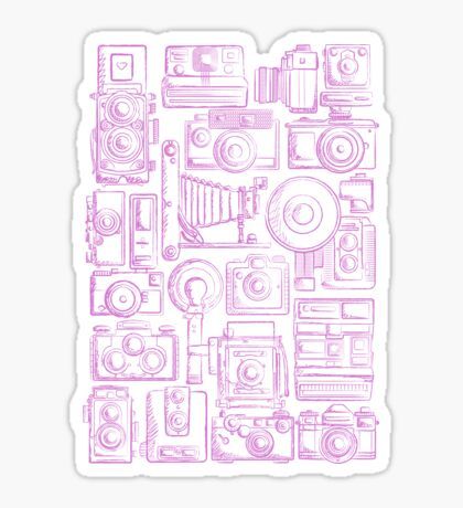 Paparazzi Purple Sticker