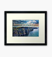 Ireland - Cliffs Framed Print