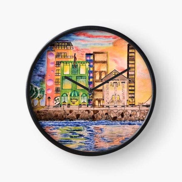 Waterfront Pier Clock