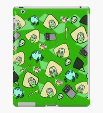 Green girl iPad Case/Skin