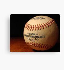 MLB Ball Canvas Print