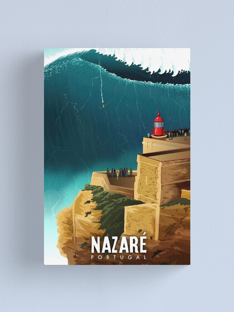 Alternate view of Nazaré, Portugal Canvas Print