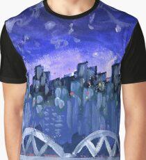 Blue Bridge Graphic T-Shirt