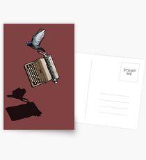 Carrier Pigeon Postcards
