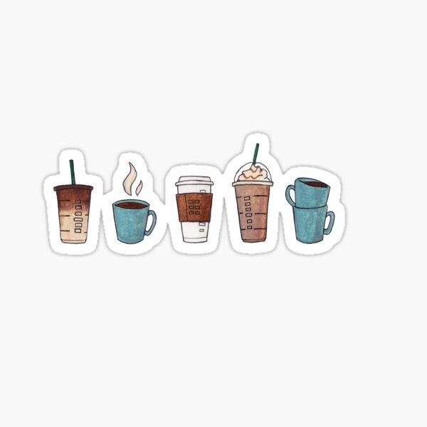 ¿Café? Pegatina