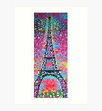 Just another paris painting Art Print