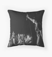 neck deep with lighters Throw Pillow