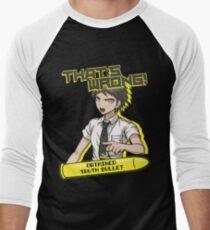 Camiseta ¾ bicolor para hombre Hajime Hinata - Eso está mal
