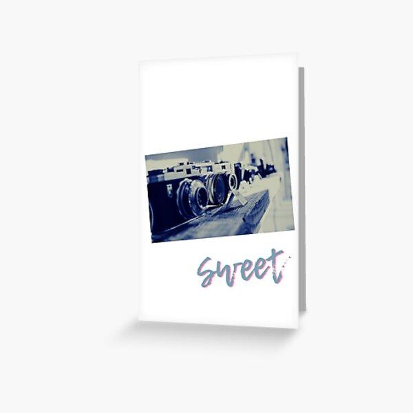 foto art sweet Greeting Card