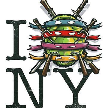 I (Turtle) NY by AlbertoArni