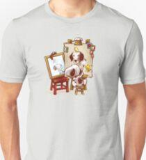 Triple Beagle Portrait Unisex T-Shirt