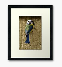 who's behind me Framed Print