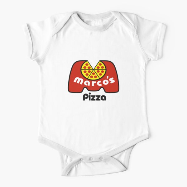 Marco's Pizza Resto Short Sleeve Baby One-Piece