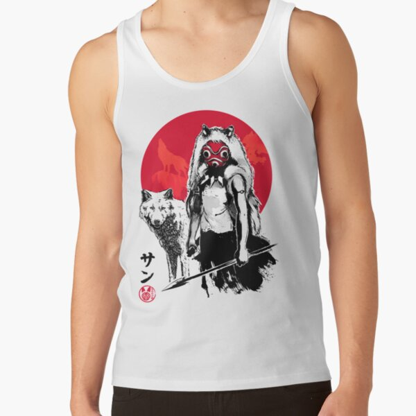 Red Wolf Tank Top