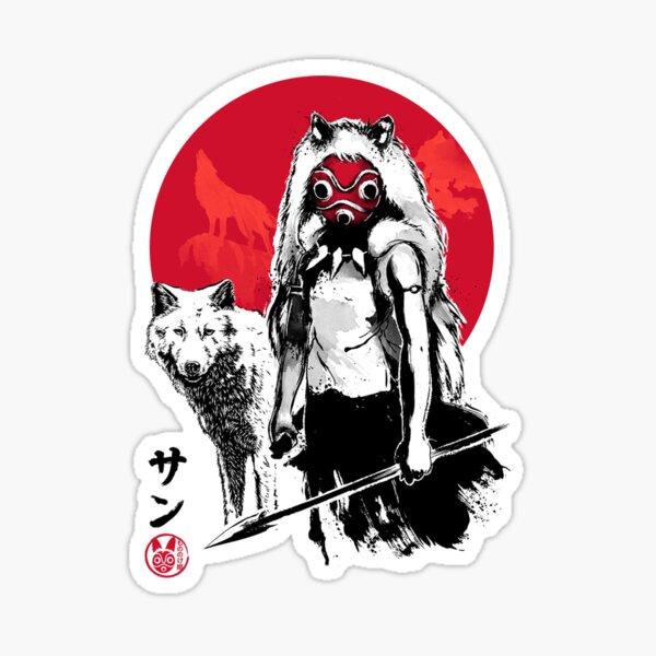 Red Wolf Sticker