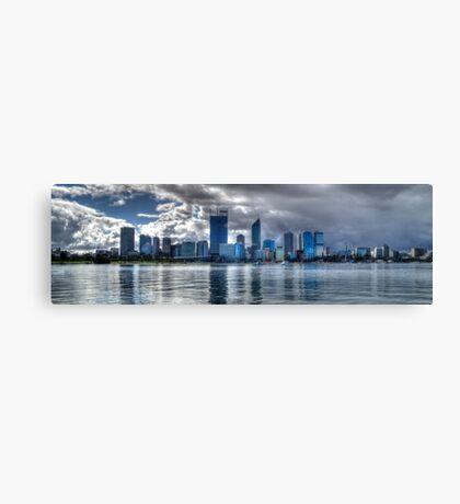 Perth city panorama Canvas Print